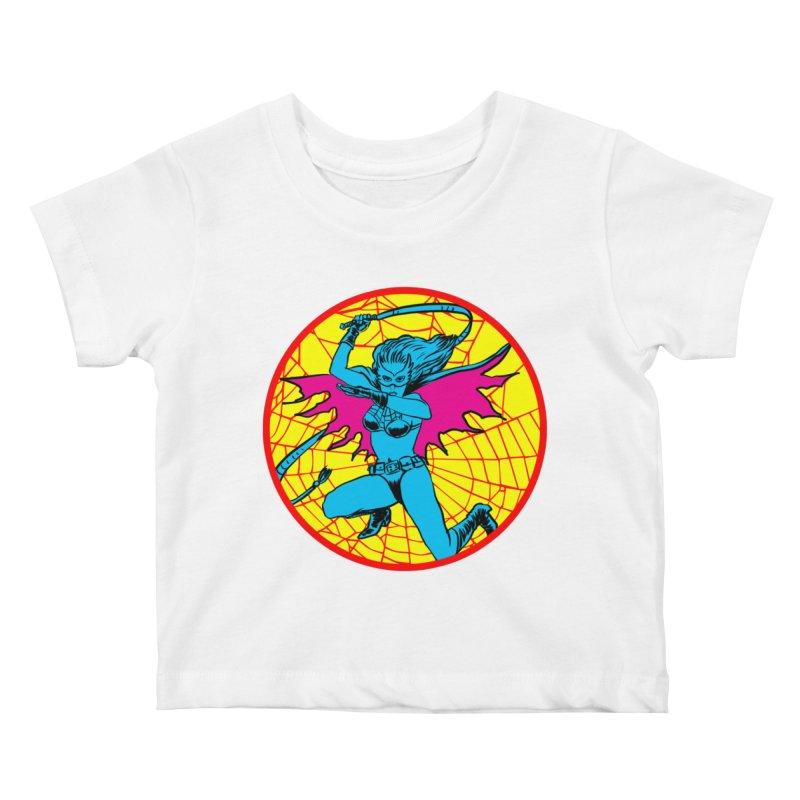 Tarantula Kids Baby T-Shirt by Alexis Ziritt