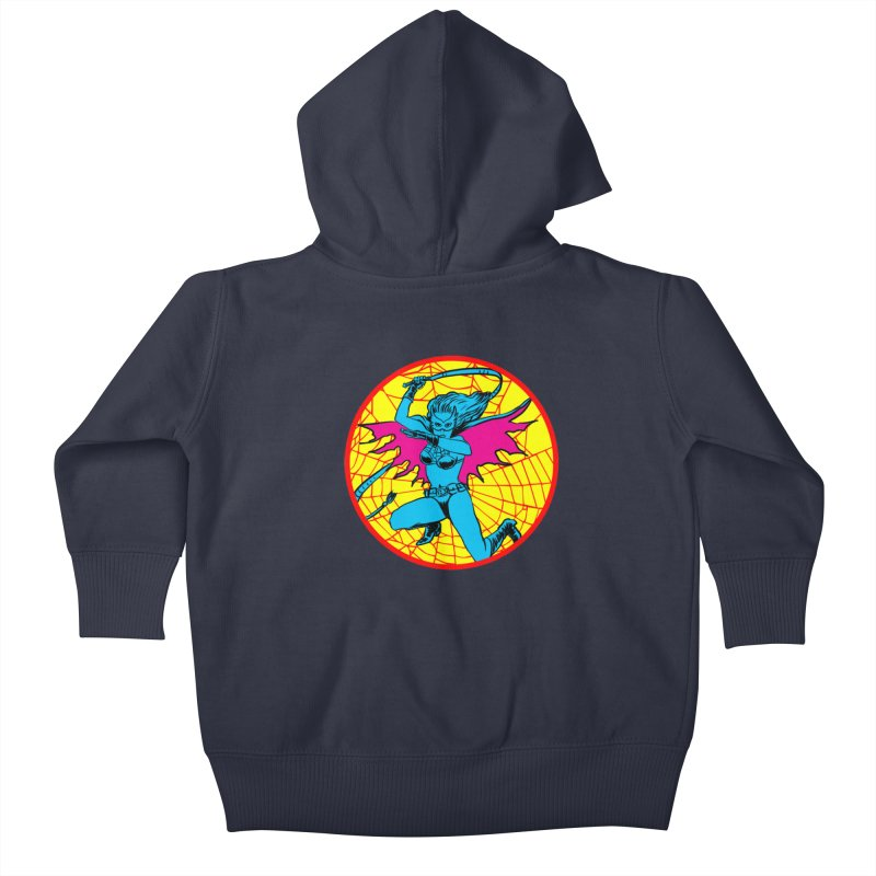 Tarantula Kids Baby Zip-Up Hoody by aziritt's Artist Shop