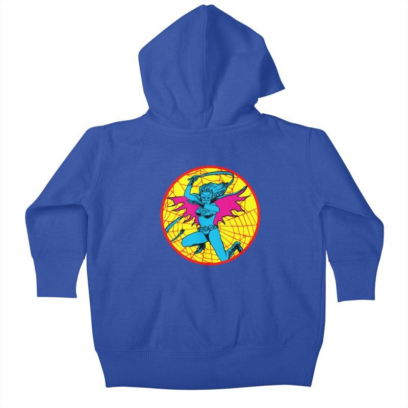 Tarantula Kids Baby Zip-Up Hoody by aziritt's Artist Shop