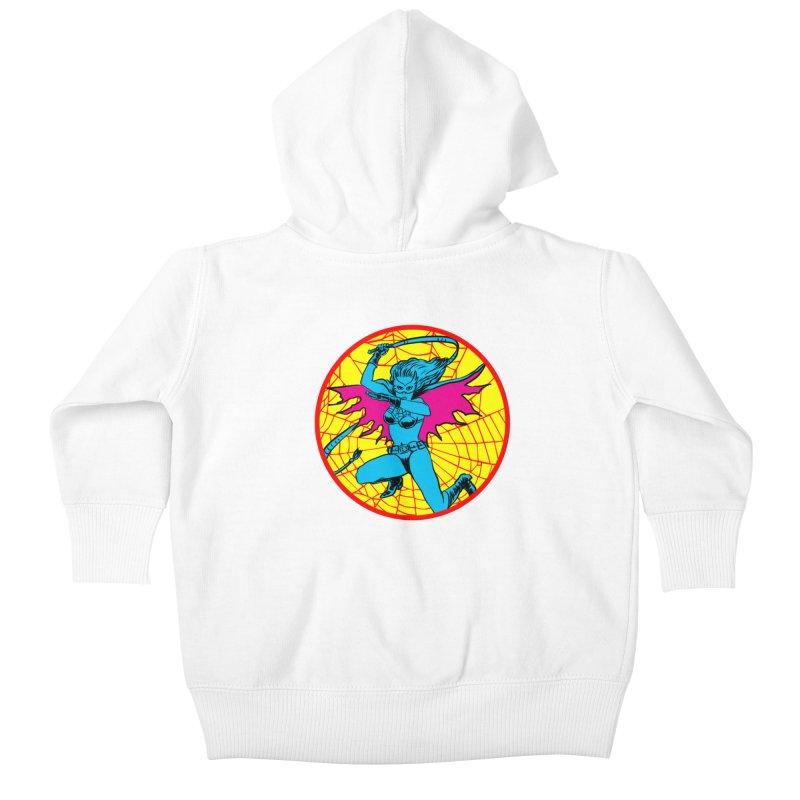Tarantula Kids Baby Zip-Up Hoody by Alexis Ziritt
