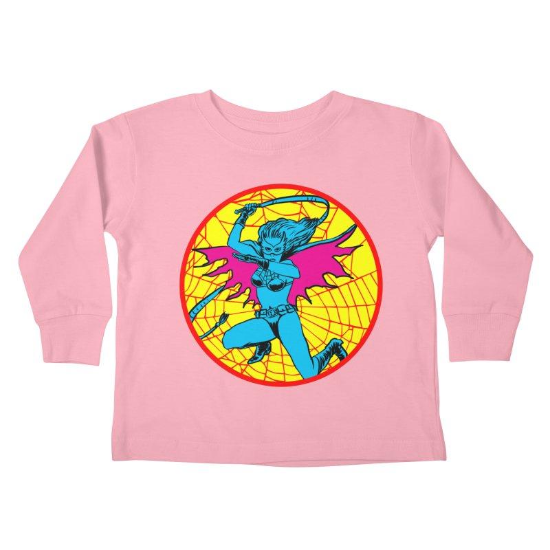 Tarantula Kids Toddler Longsleeve T-Shirt by Alexis Ziritt