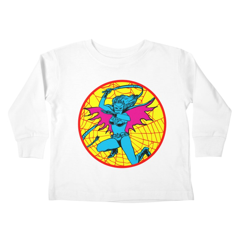 Tarantula Kids Toddler Longsleeve T-Shirt by aziritt's Artist Shop