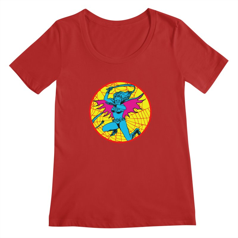Tarantula Women's Scoopneck by aziritt's Artist Shop