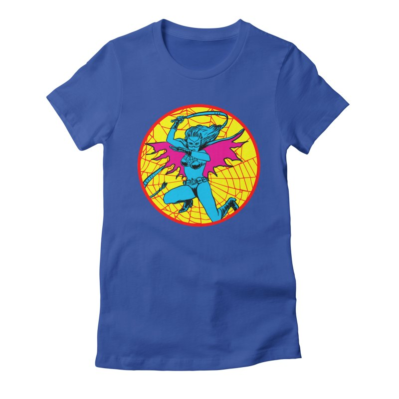 Tarantula Women's Fitted T-Shirt by Alexis Ziritt