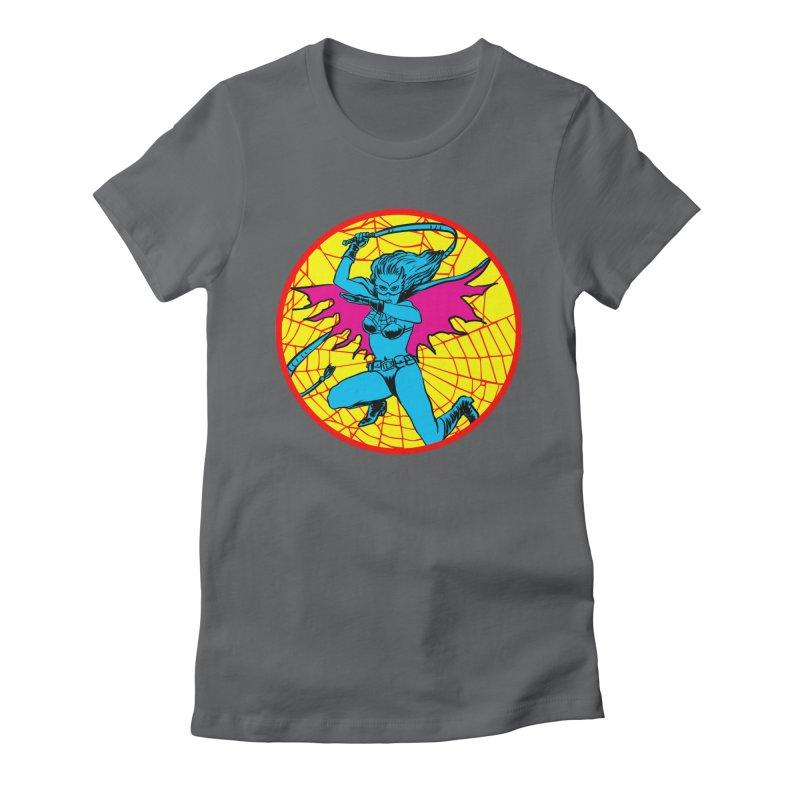 Tarantula Women's Fitted T-Shirt by aziritt's Artist Shop