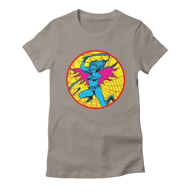 Tarantula Women's Fitted T-Shirt by Alexis Ziritt
