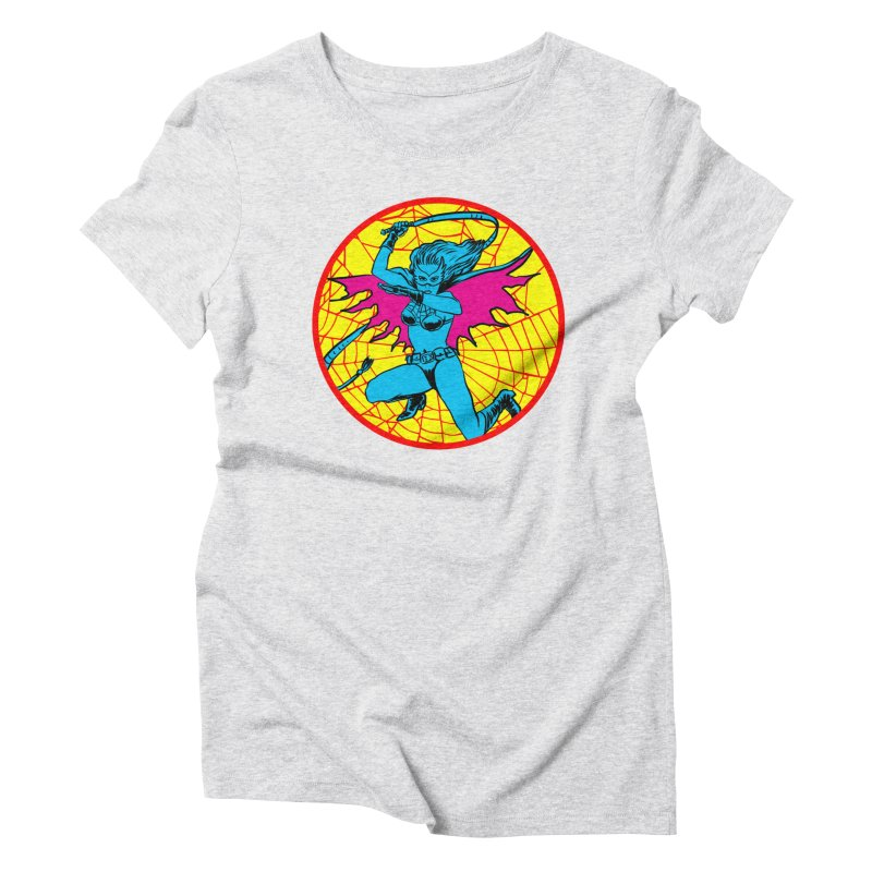 Tarantula Women's Triblend T-shirt by aziritt's Artist Shop