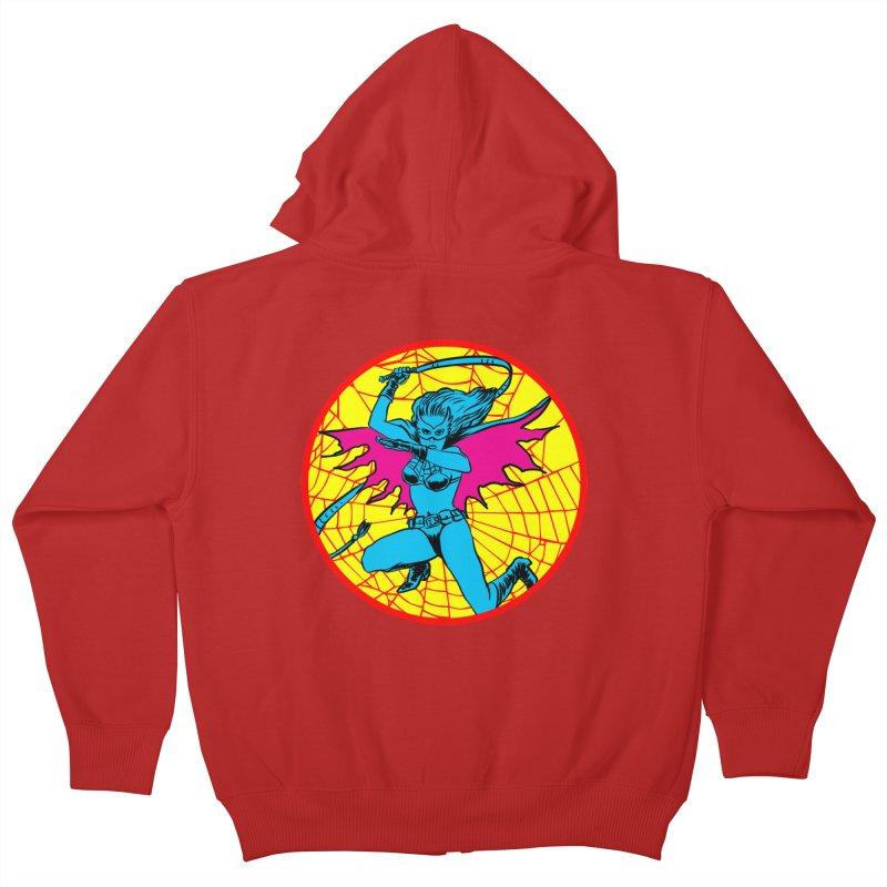 Tarantula Kids Zip-Up Hoody by aziritt's Artist Shop