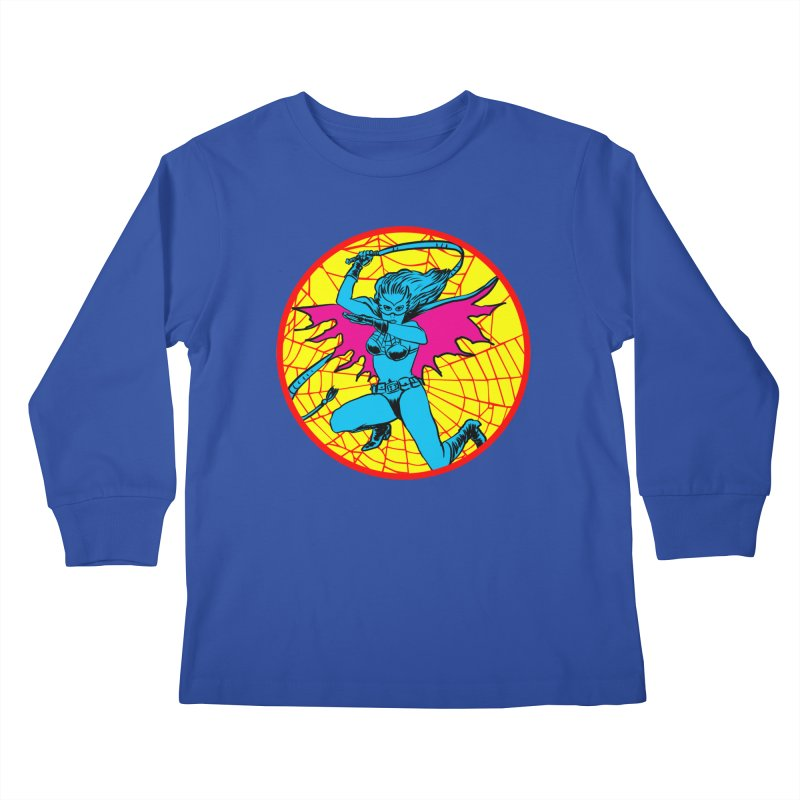 Tarantula Kids Longsleeve T-Shirt by Alexis Ziritt