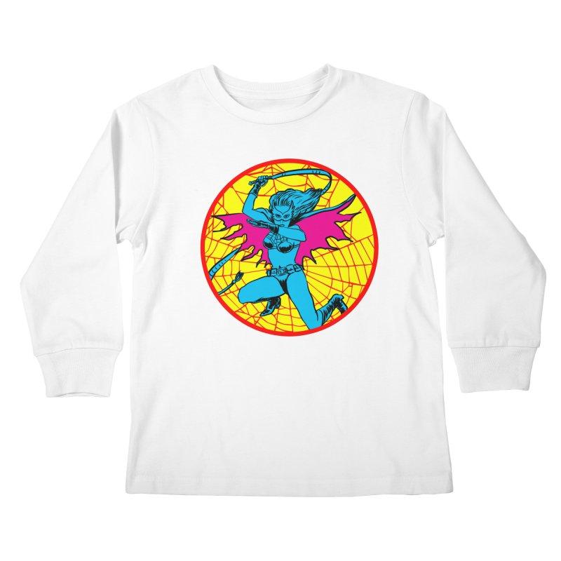Tarantula Kids Longsleeve T-Shirt by aziritt's Artist Shop