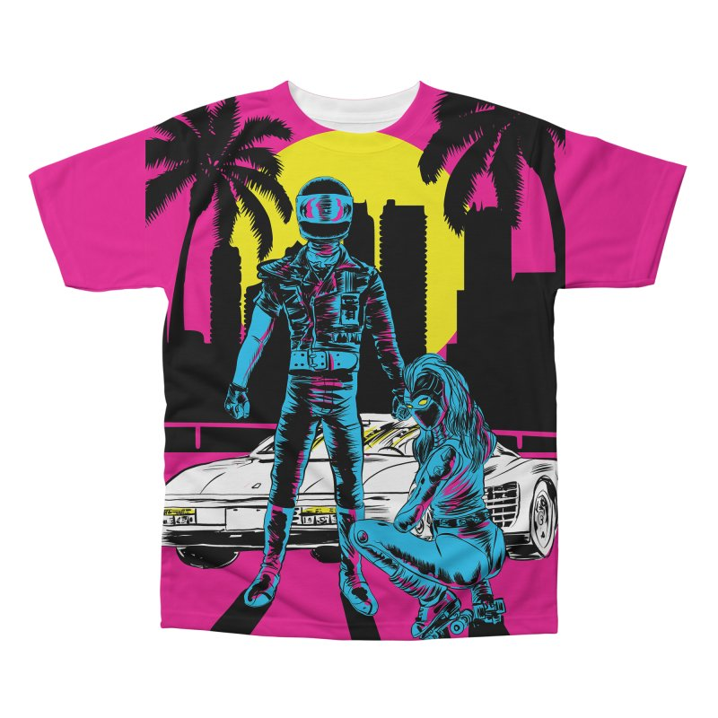 Miami1984 Men's All Over Print by aziritt's Artist Shop