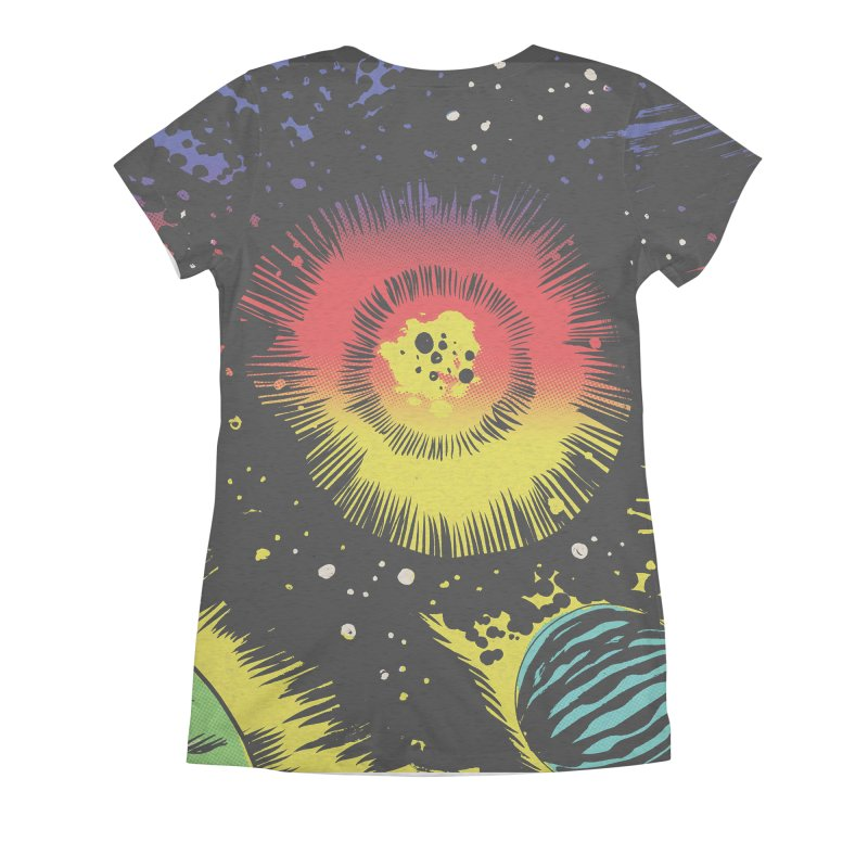 Space_03 Women's All Over Print by Alexis Ziritt