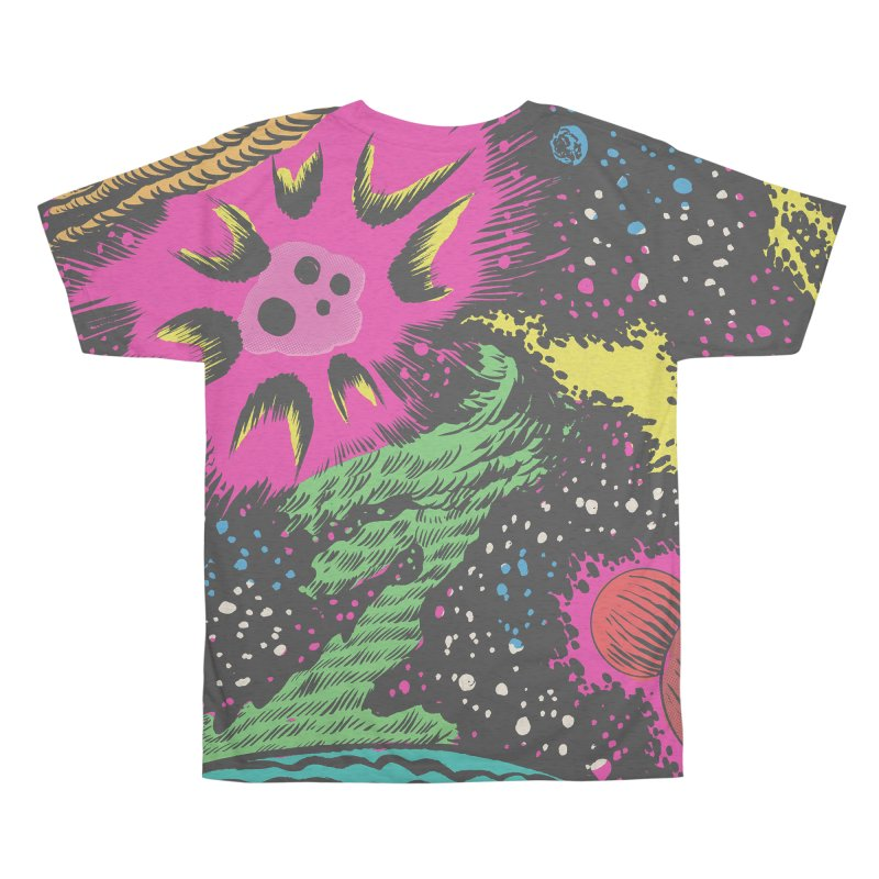 Space_05 Men's All Over Print by Alexis Ziritt