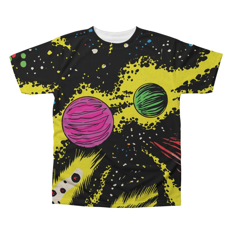 Space_06 Men's Regular All Over Print by Alexis Ziritt