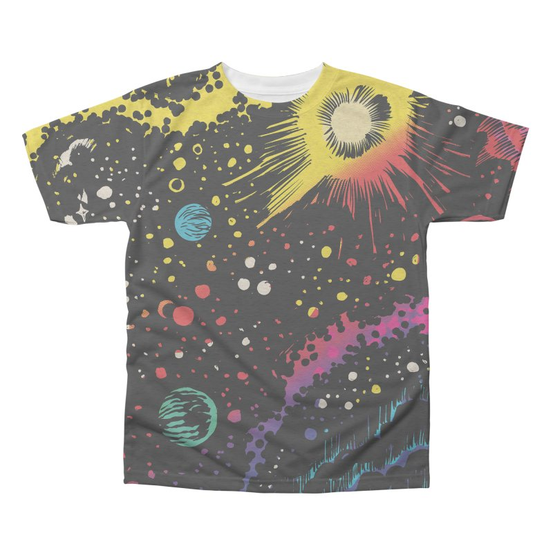Space Men's All Over Print by Alexis Ziritt