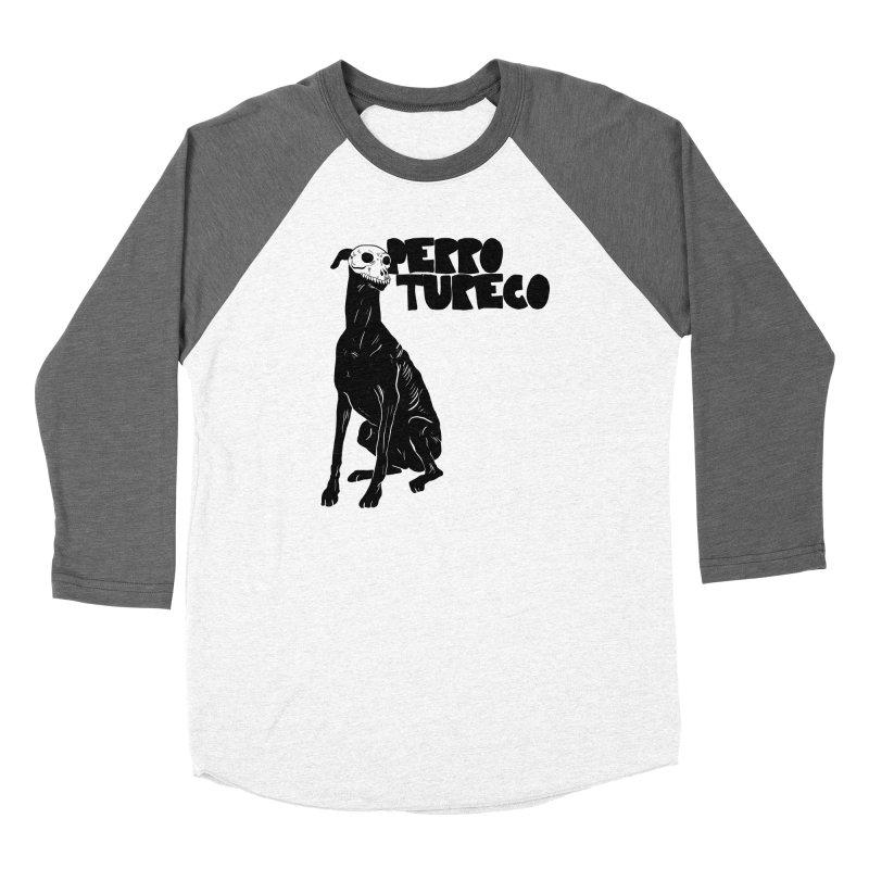 PERRO TURECO Women's Baseball Triblend Longsleeve T-Shirt by Alexis Ziritt