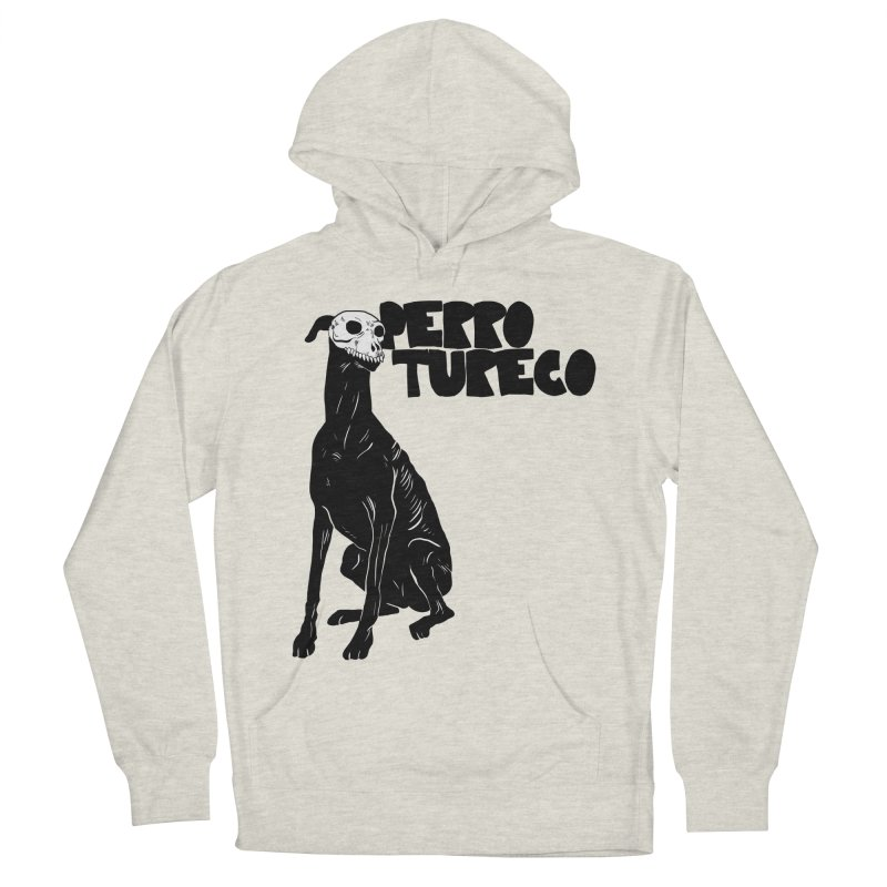 PERRO TURECO Women's French Terry Pullover Hoody by Alexis Ziritt