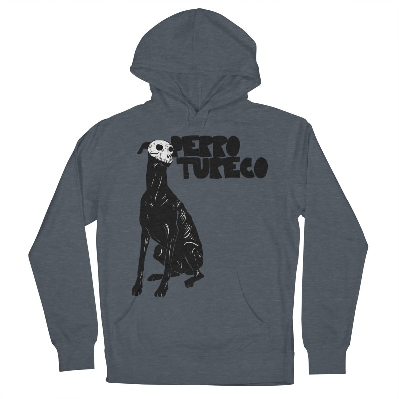 PERRO TURECO Men's French Terry Pullover Hoody by Alexis Ziritt