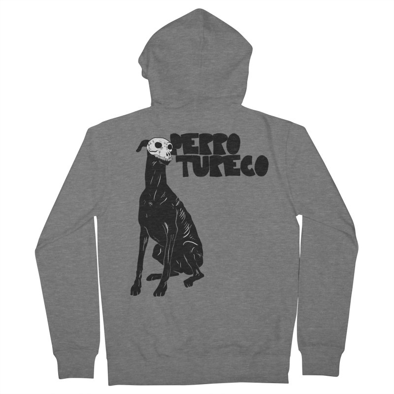 PERRO TURECO Men's Zip-Up Hoody by Alexis Ziritt