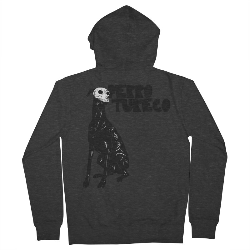 PERRO TURECO Men's Zip-Up Hoody by aziritt's Artist Shop