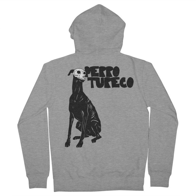 PERRO TURECO Men's Zip-Up Hoody by Alexis Ziritt