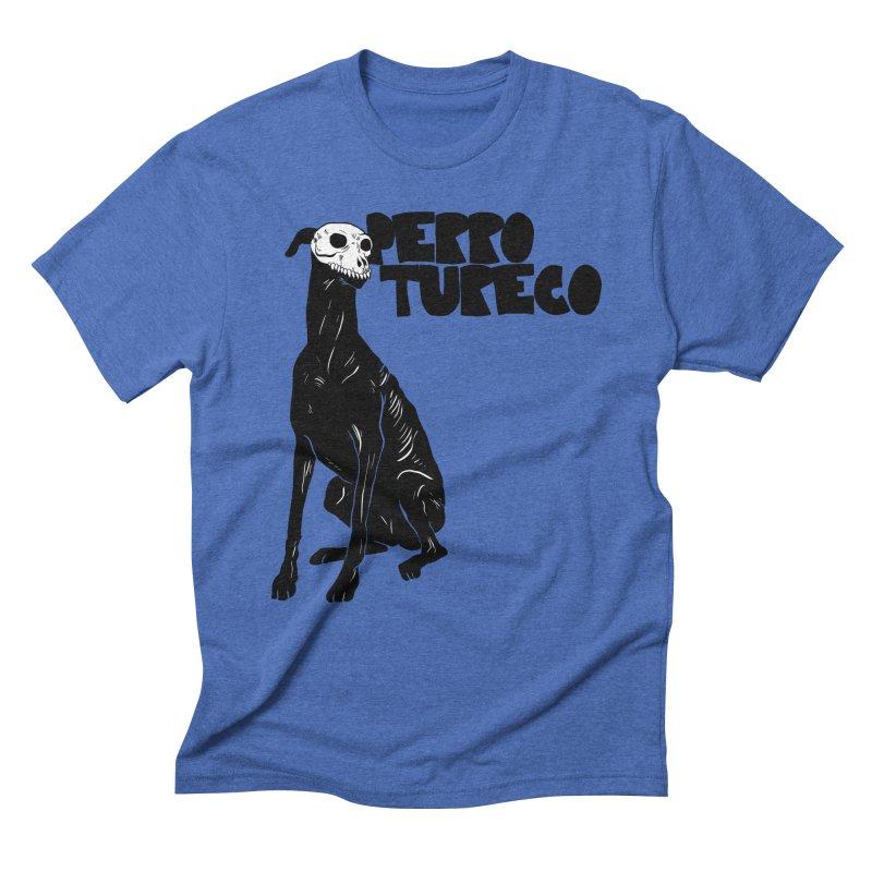 PERRO TURECO Men's Triblend T-Shirt by Alexis Ziritt