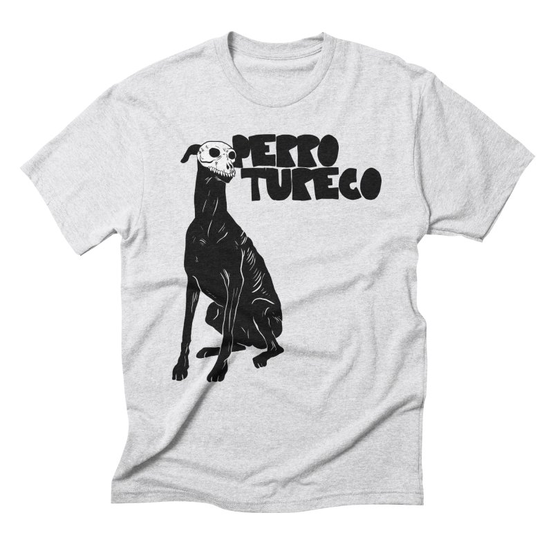 PERRO TURECO Men's Triblend T-shirt by aziritt's Artist Shop