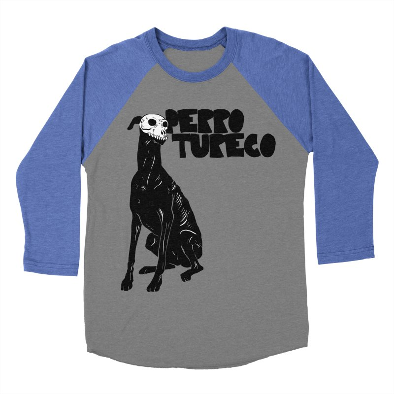 PERRO TURECO Men's Baseball Triblend Longsleeve T-Shirt by aziritt's Artist Shop