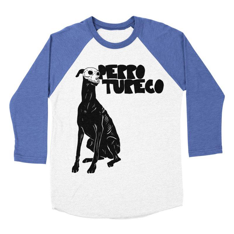 PERRO TURECO Men's Baseball Triblend Longsleeve T-Shirt by Alexis Ziritt