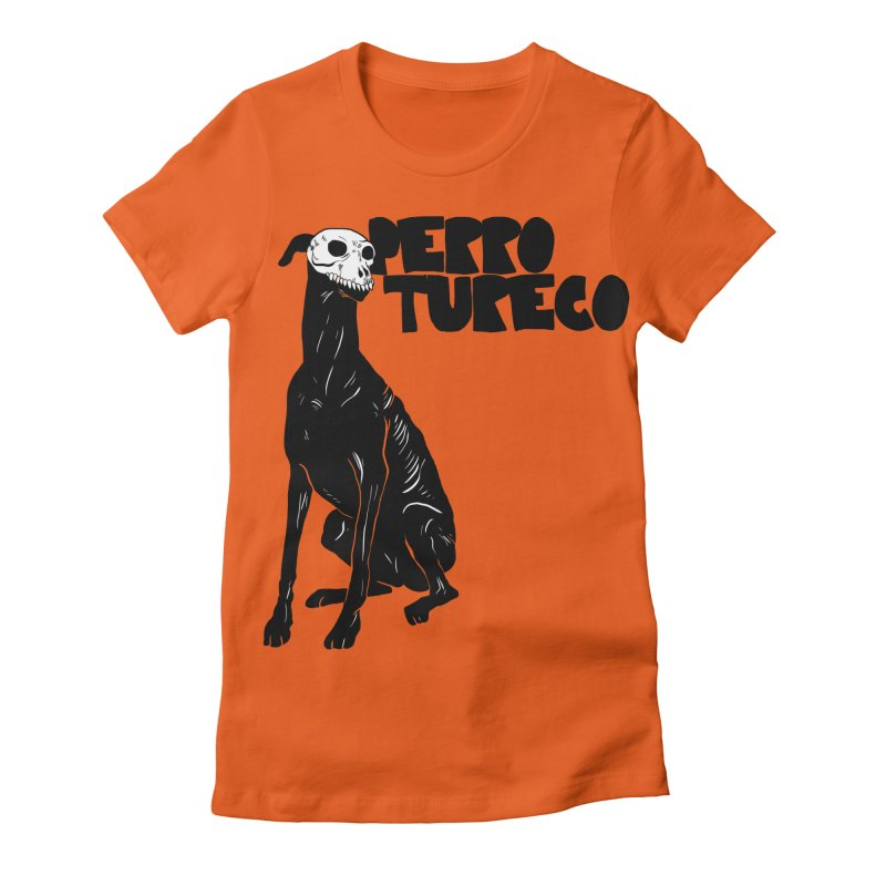 PERRO TURECO Women's Fitted T-Shirt by aziritt's Artist Shop