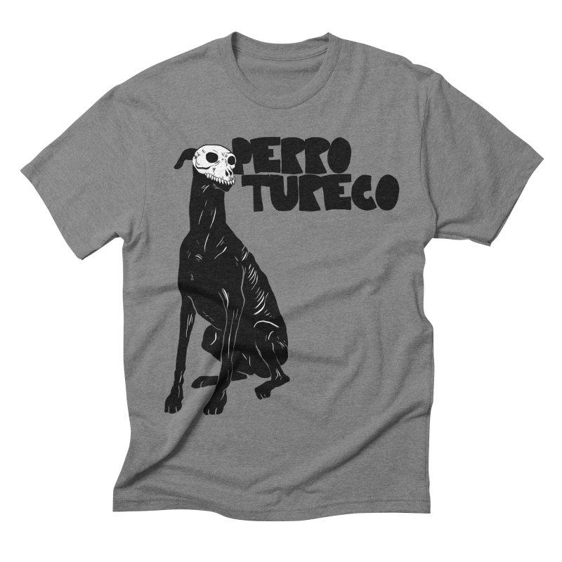 PERRO TURECO Men's Triblend T-shirt by aziritt's Artist Shop