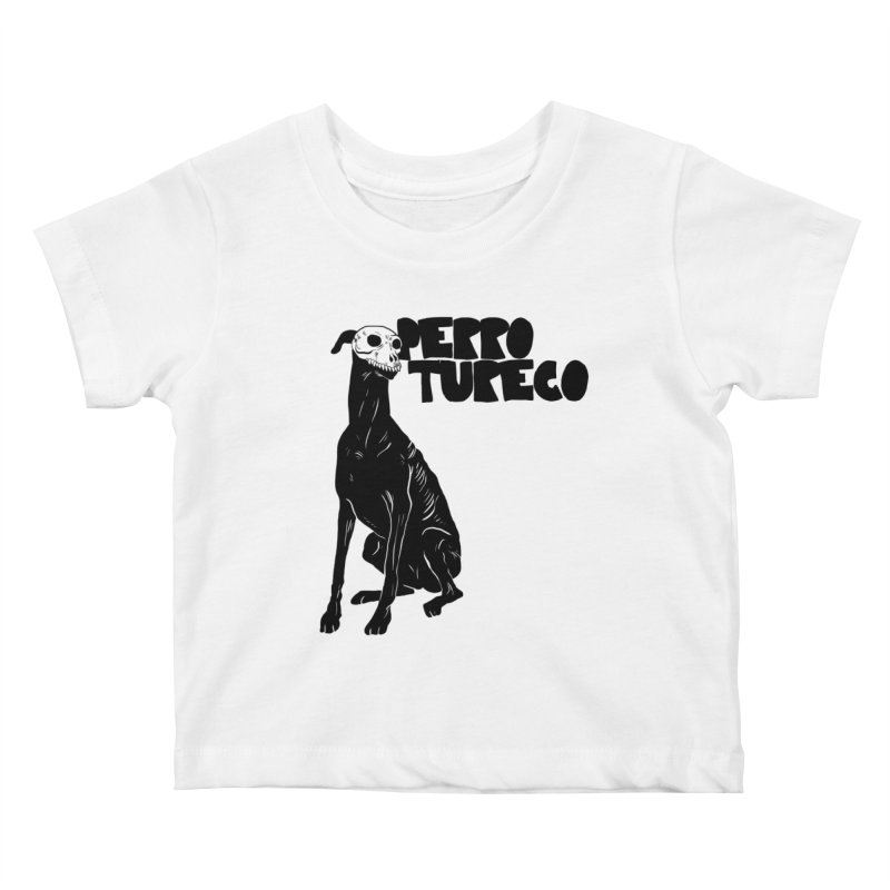 PERRO TURECO Kids Baby T-Shirt by Alexis Ziritt