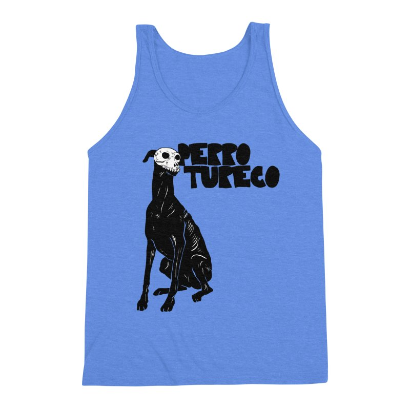 PERRO TURECO Men's Triblend Tank by Alexis Ziritt