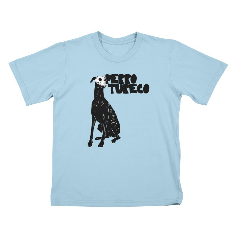 PERRO TURECO Kids T-Shirt by Alexis Ziritt