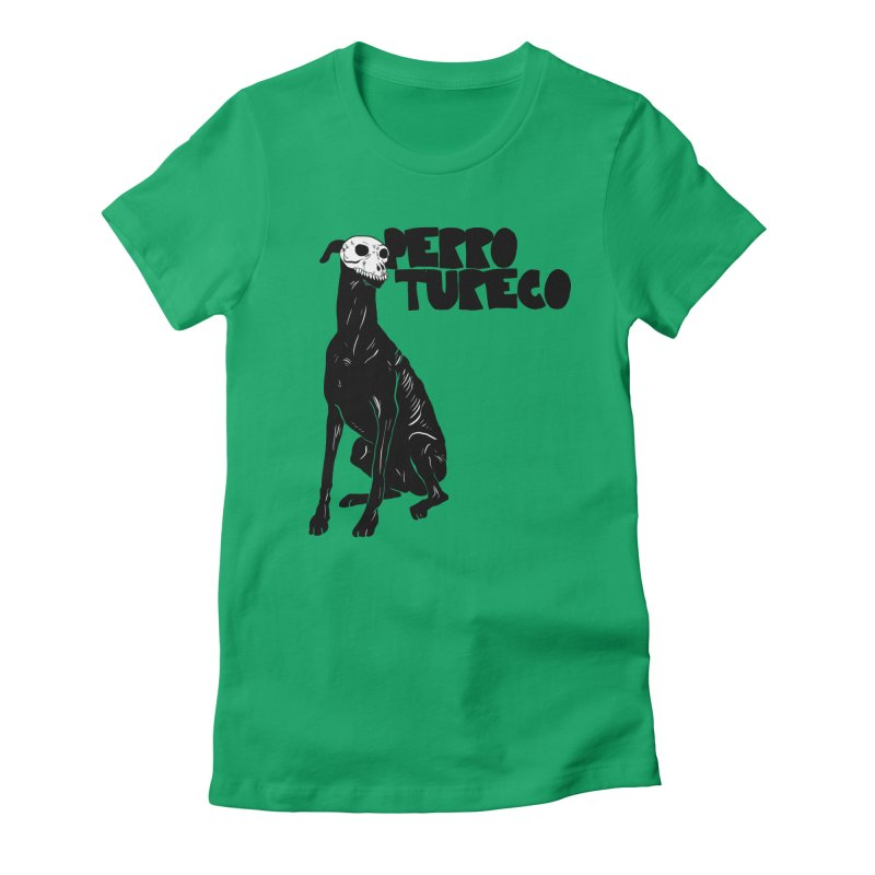 PERRO TURECO Women's Fitted T-Shirt by Alexis Ziritt