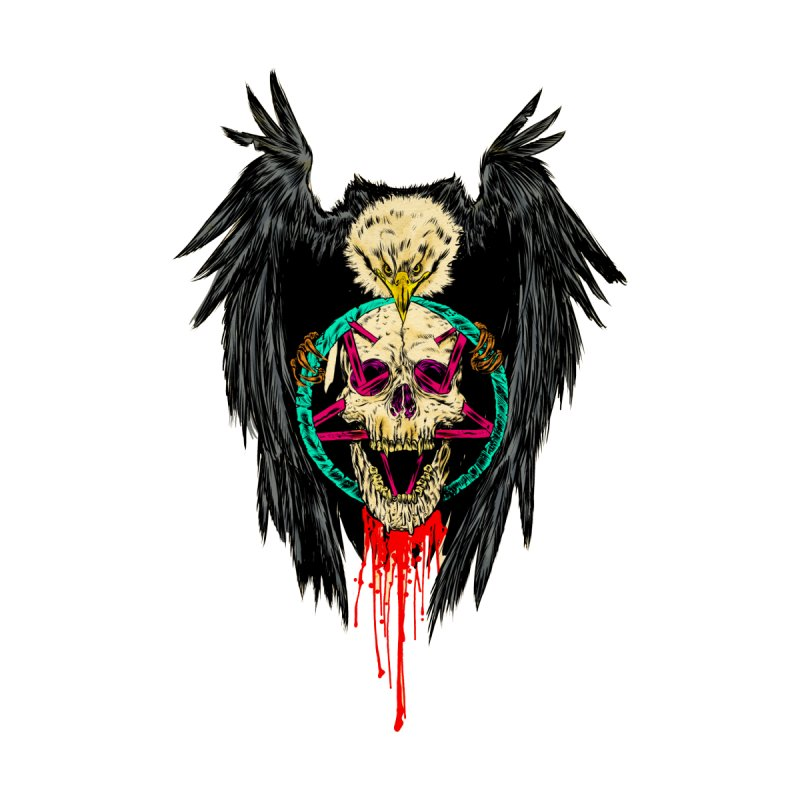 Eagle Of Doom Metal by aziritt's Artist Shop