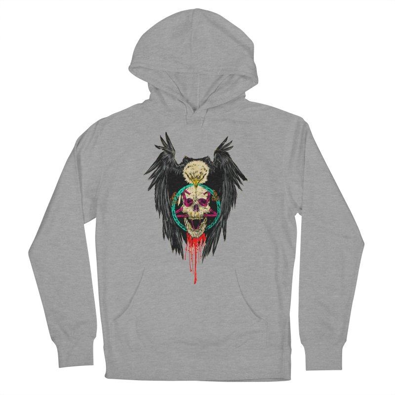 Eagle Of Doom Metal Women's Pullover Hoody by Alexis Ziritt