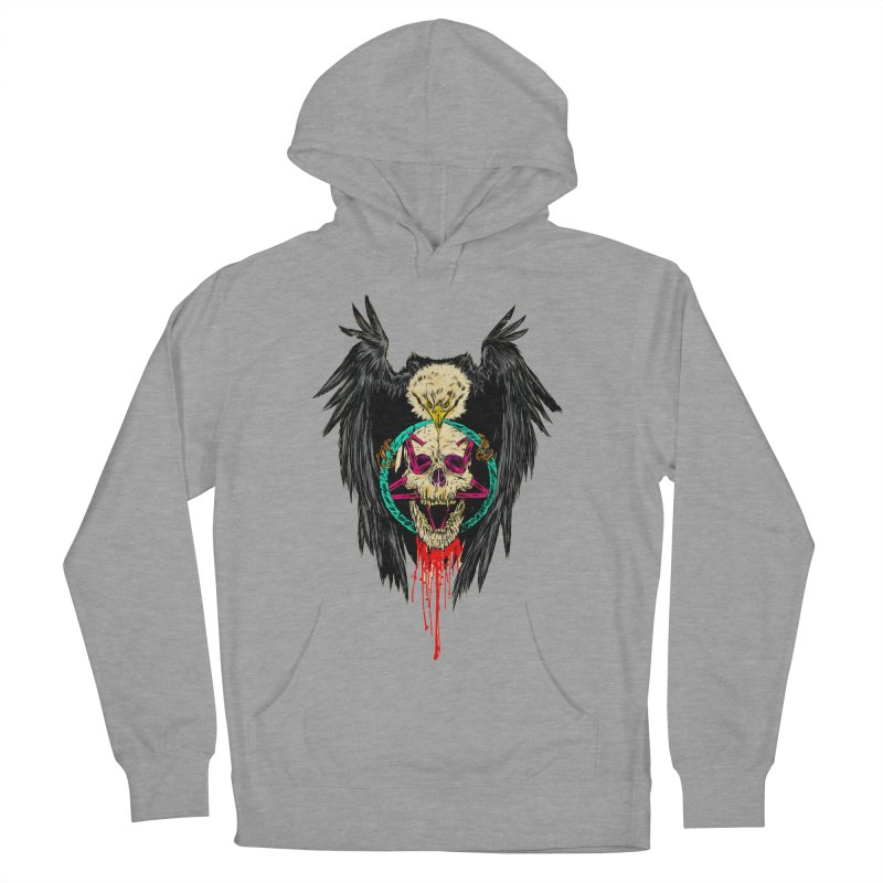 Eagle Of Doom Metal Women's Pullover Hoody by aziritt's Artist Shop