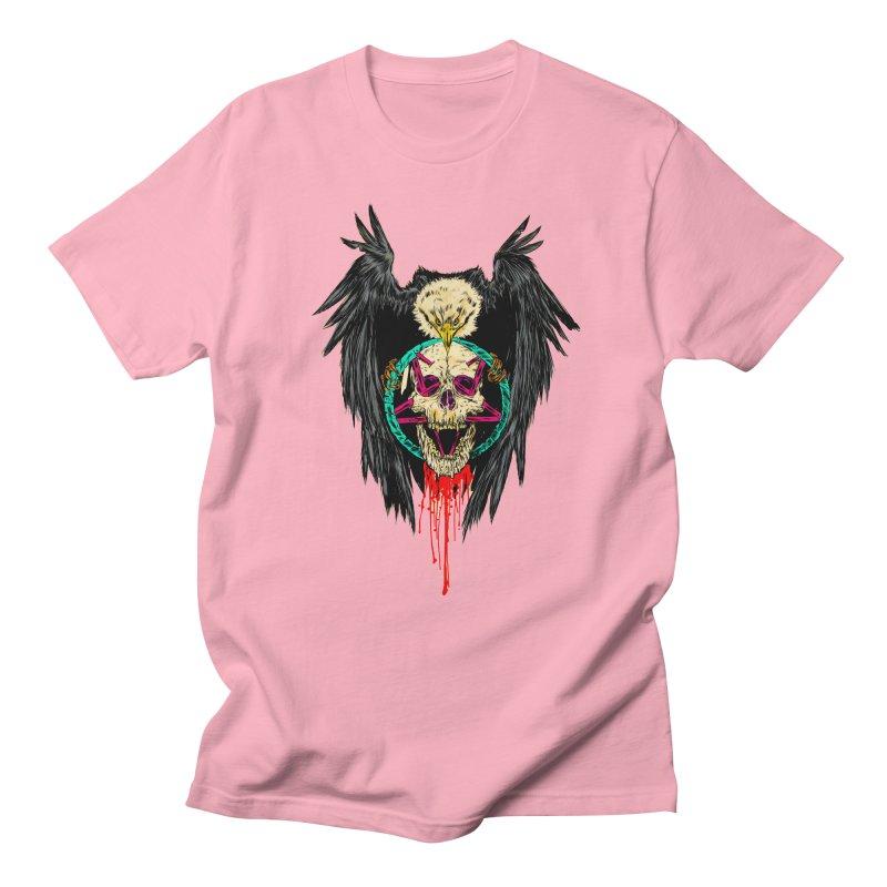 Eagle Of Doom Metal Men's Regular T-Shirt by Alexis Ziritt