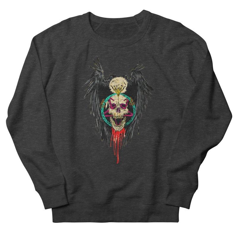 Eagle Of Doom Metal Women's French Terry Sweatshirt by Alexis Ziritt