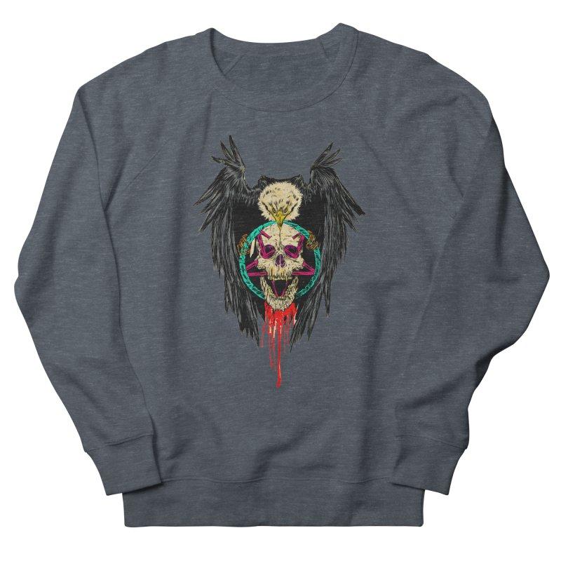 Eagle Of Doom Metal Women's Sweatshirt by aziritt's Artist Shop
