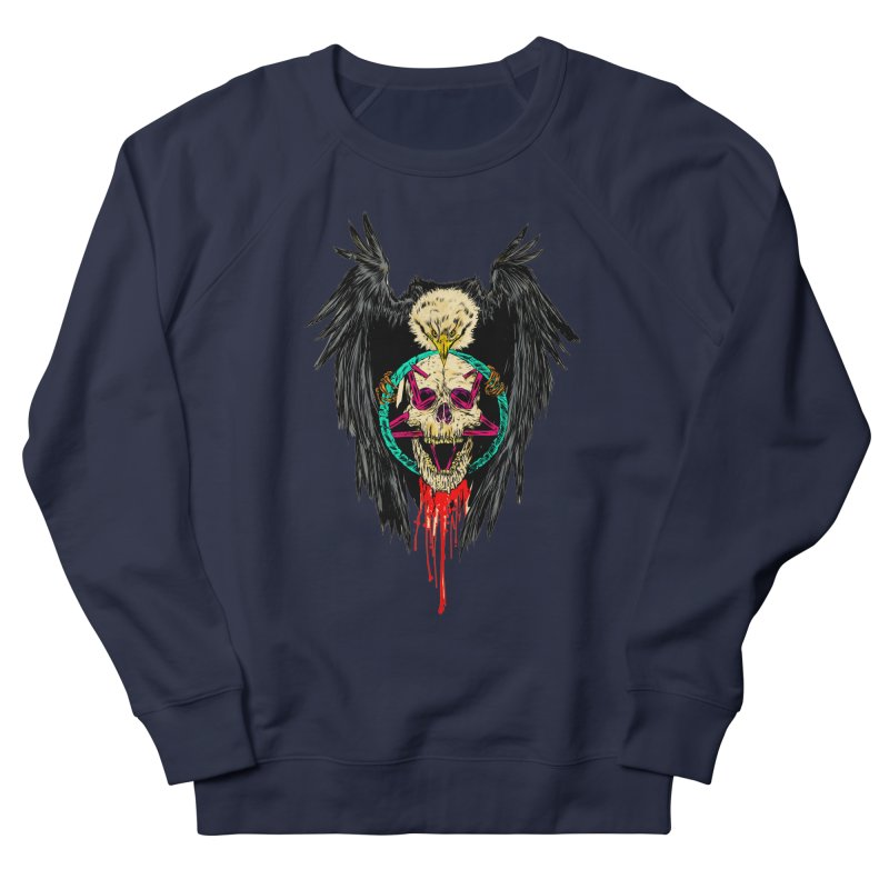 Eagle Of Doom Metal Women's Sweatshirt by aziritt's Artist Shop