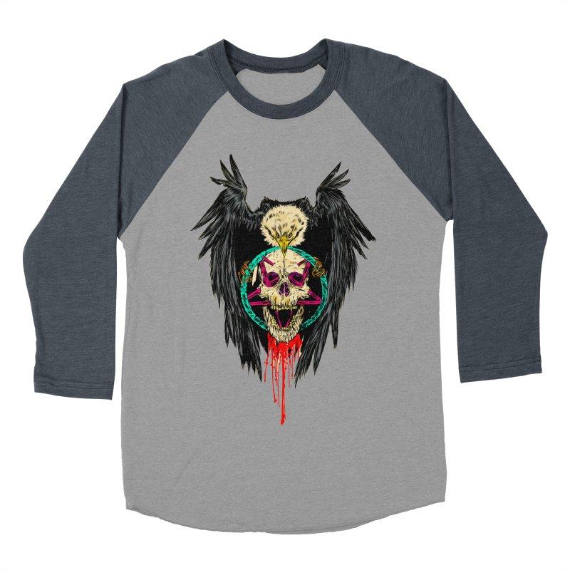 Eagle Of Doom Metal Women's Baseball Triblend Longsleeve T-Shirt by aziritt's Artist Shop