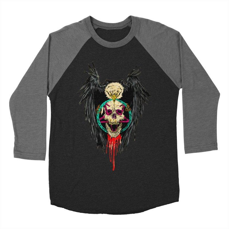 Eagle Of Doom Metal Men's Baseball Triblend T-Shirt by aziritt's Artist Shop