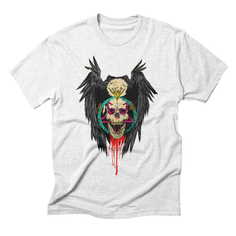 Eagle Of Doom Metal Men's Triblend T-shirt by aziritt's Artist Shop