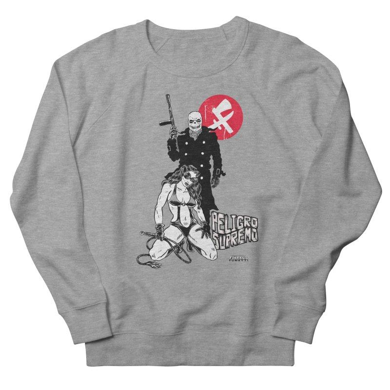 Peligro Supremo Men's French Terry Sweatshirt by aziritt's Artist Shop