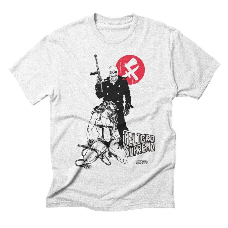Peligro Supremo Men's Triblend T-shirt by aziritt's Artist Shop