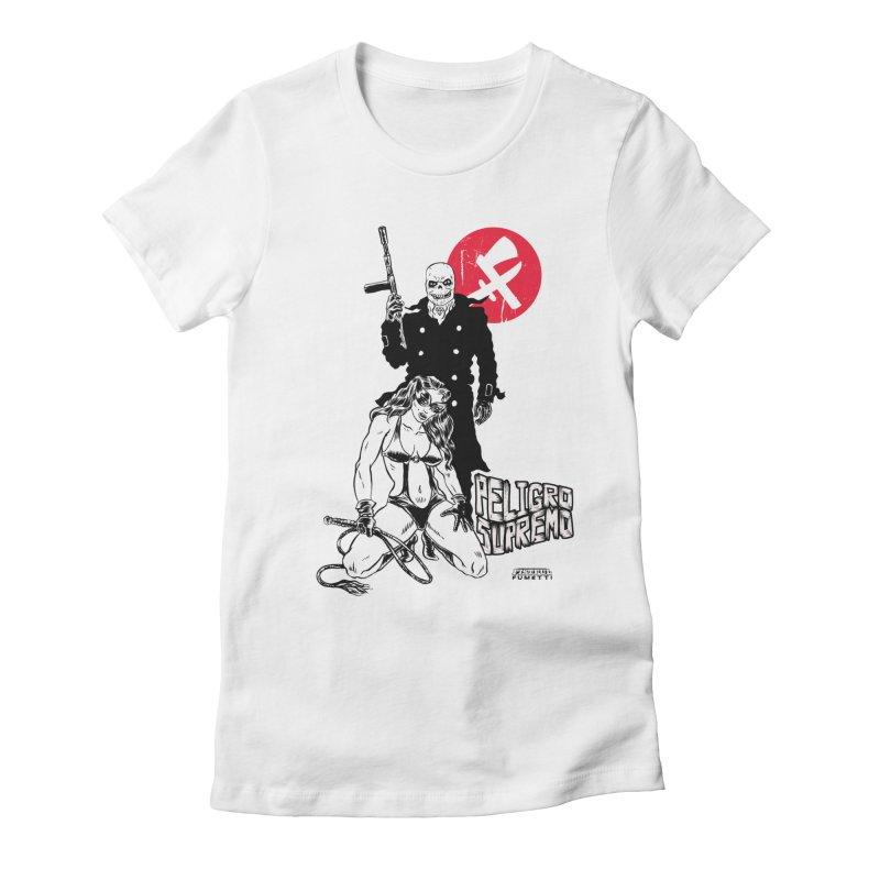 Peligro Supremo Women's Fitted T-Shirt by aziritt's Artist Shop