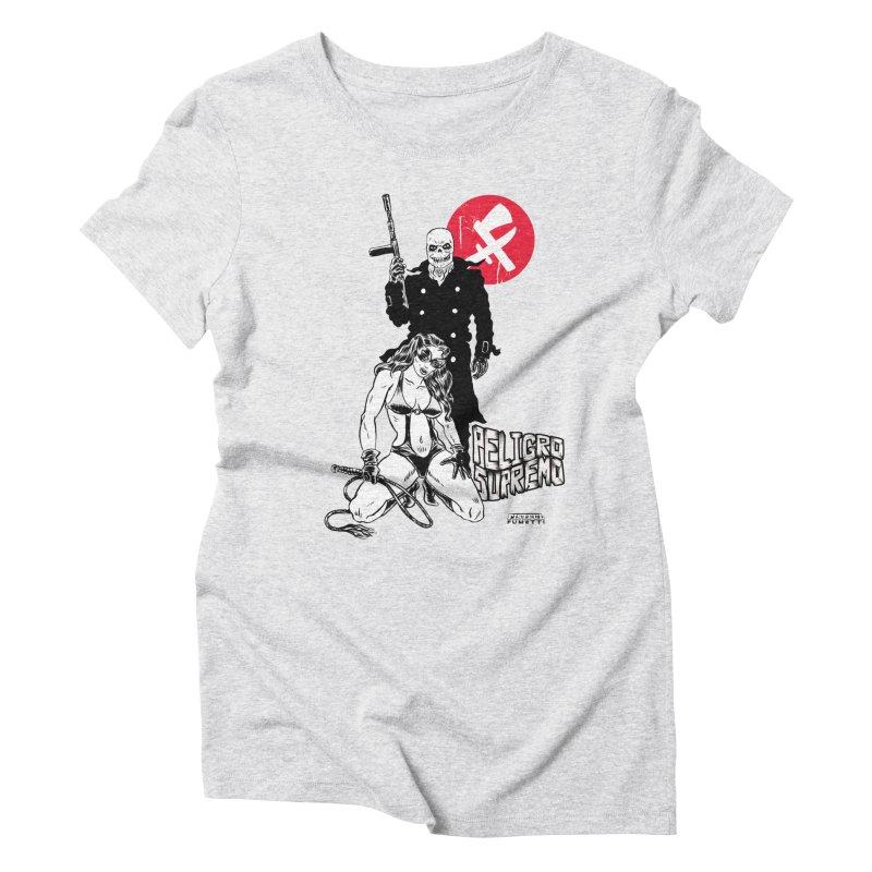 Peligro Supremo Women's Triblend T-Shirt by aziritt's Artist Shop