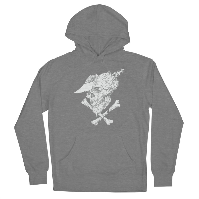 HUESO Men's French Terry Pullover Hoody by Alexis Ziritt